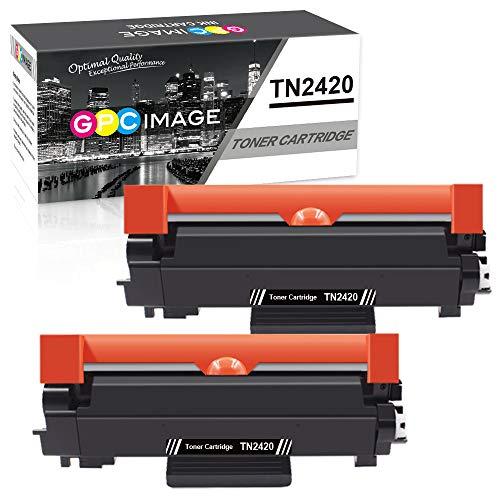 GPC Image TN2420 TN-2420 Cartuchos tóner Compatible