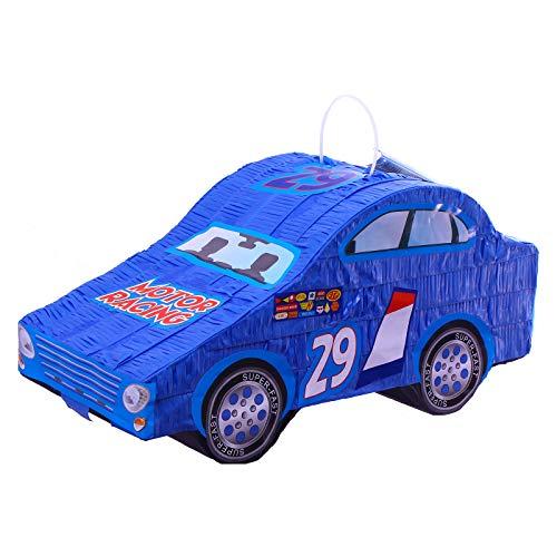 Procos 84853 Pinata Cars Ice Racer, befüllbar, 6 Bänder -