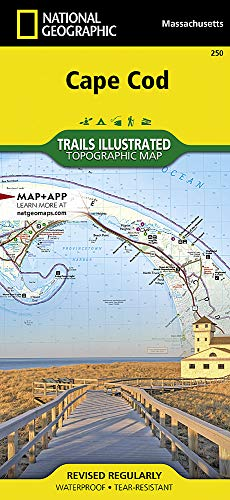 Cape Cod National Seashore: National Geographic Trails Illustrated USA Nordosten (National Geographic Trails Illustrated Map, Band 250)