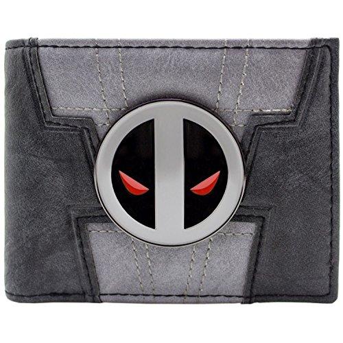 Marvel Deadpool 2 X-Force Einheitlicher Stil Grau Portemonnaie -
