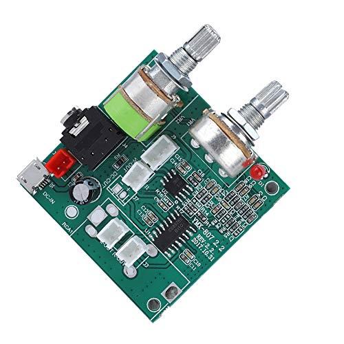Mugast Digital Audio Stereo Board,2.1 Channel Digital Audio Endverstärker Board Hauptplatine,5V 20W Hohe Leistung Power Audio Verstärker Amplifier Stereo Board Modul für Laptop/Desktop-Karten-Audio
