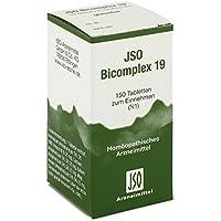 Jso Bicomplex Heilmittel Nummer 19 150 stk preisvergleich bei billige-tabletten.eu