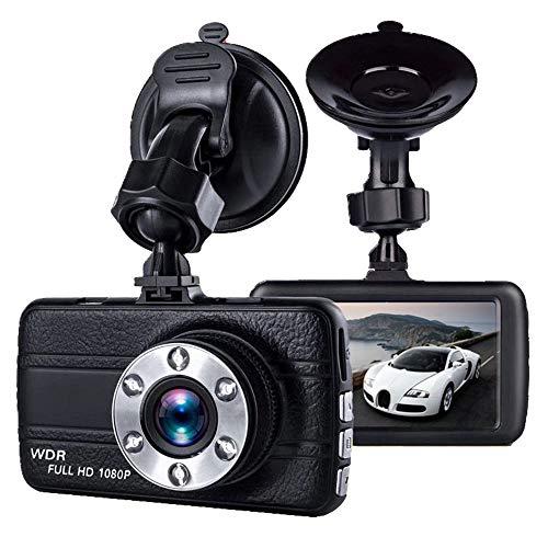 Maqlkc sorveglianza di parcheggio dell'automobile dvr dell'obiettivo di grandangolare nascosta grandangolare di visione notturna del registratore di guida di hd 3 pollici 1080p