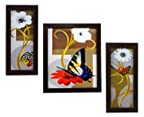 #8: 3 PIECE SET OF FRAMED WALL HANGING ART PRINTS PAINTINGS