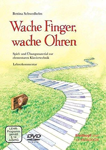 Wache Finger, Wache Ohren Lehrerband Mit DVD Livre Sur la Musique