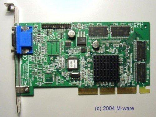 Tnt2 M64 32 Mb (AGP-Grafikkarte nVidia Riva TNT2 M64 ID3041)
