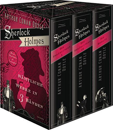 Sherlock Holmes - Sämtliche Werke in drei Bänden