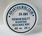 Kanthal A1 Type Resistance Wire - (26AWG) -0.40mm 25 Metre Spool 11.31 ohms/m