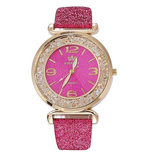 Frauen Kristall Edelstahl Quarz Armbanduhr Legierung Analog Armbanduhr Armband Ultradünne Wasserdicht Armbanduhren Mode Elegant Geschäft Uhren