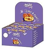 Milka Cake und Choc - Kleine Kuchen mit leckerer Alpenmilch Schokolade - 24 x 35g