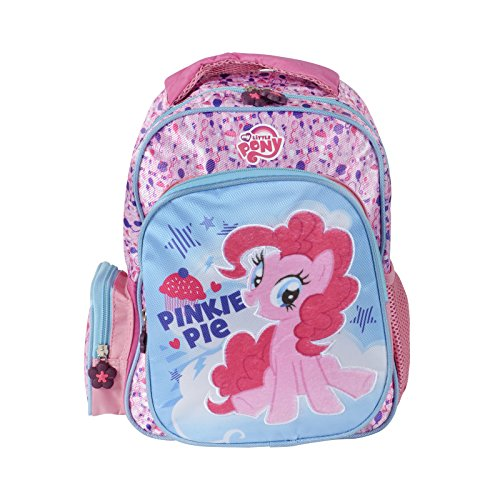 Price comparison product image My Little Pony Small Pinkie Pie Backpack Kids Bag Zip Fastening Girls Accessory