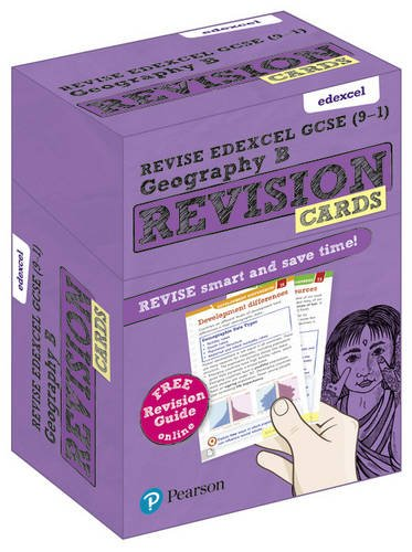 Revise Edexcel GCSE (9-1) Geography B Revision Cards: with free online Revision Guides (Revise Edexcel GCSE Geography 16)