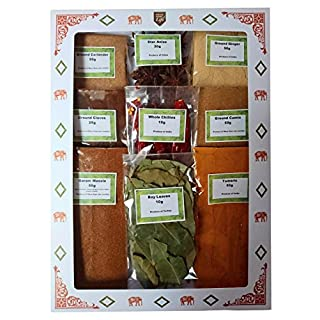 Authentic Indian Spice Gift Set Curry Spice KIT - Makes UP to 24 CURRIES - Quality Spices with Free Post