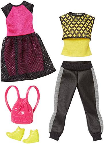 Preisvergleich Produktbild Mattel Barbie Mode und Accessoires 2er- Pack Hipster-Look