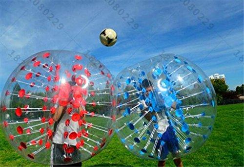 Hysh bubble ball gonfiabile fun toys diameter 1 m outdoor sport e giochi materiale tpu ambientale (non includere pompa), red
