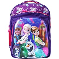Best Shop Fabric 24L Purple Blue School Backpack
