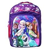 #10: Best Shop Fabric 24L Purple Blue School Backpack
