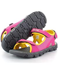 Tucuman Aventura - Sandalias niña/chica rosas para caminar y senderimo (36)