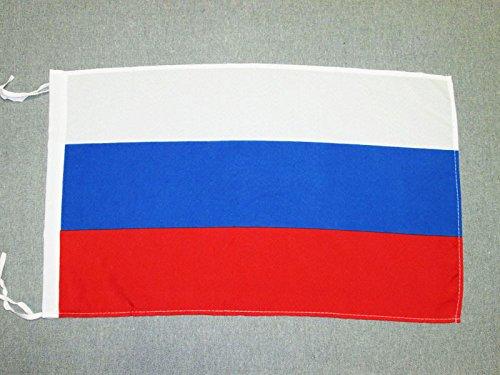 AZ FLAG Flagge Russland 45x30cm mit Kordel - RUSSISCHE Fahne 30 x 45 cm - flaggen Top Qualität