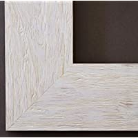Specchio da parete specchio da bagno corridoio specchio appendiabiti–oltre 200misure–Venezia Beige Bianco 6,8, Dimensioni del vetro dello specchio, bianco, 60 x 140 - A4 Verticale Parete