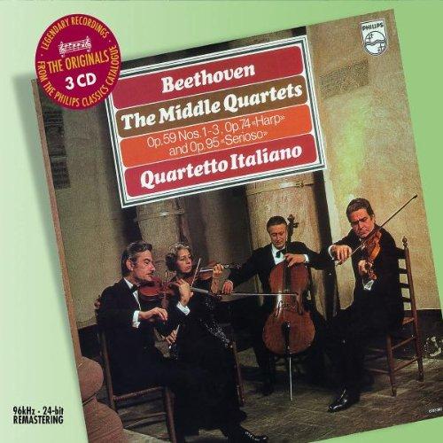 """Streichquartette Op.59/74/95 """"Mittlere"""""""