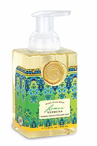 Michel Design Works Schäumendes Hand Seife, 17.8-ounce, Lemon Verbena (Schaum-pumpe Handseife)