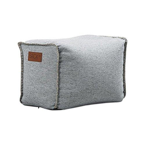 SACKit RETROit Cobana Sitzkissen Puff Sitzhocker Square Outdoor & Indoor rechteckig Sand Melange