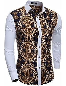 El otoño y el invierno camisa de hombre 3d man Sau San Polo Shirt