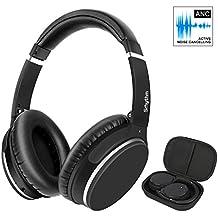 Kopfhörer Bluetooth Kabellos Noise Cancelling -Srhythm NC25- Kopfhörer mit Mikrofon Aktiver Rauschunterdrückung Faltbar Hi-Fi Stereo Protein-Material und Einstellbare Ohrabdeckung (Over Ears)