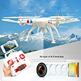 SYMA X8W WiFi FPV Headless Mode 2.4G RC Quadcopter Drone with HD 0.3MP Camera 6 Axis Gyro 3D Roll Stumbling UFO Real-Time Transmission
