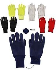 """Fleece Fingerhandschuhe - """" FARBWAHL """" - Größen: 3 bis 5 Jahre - LEICHT anzuziehen ! - mit extra langen Bündchen Kinder & Babyhandschuhe / Fleecehandschuhe - Fleece-Handschuhe Fingerhandschuh Handschuh - Mädchen Jungen Handschuhe / Thermo - Kinderhandschuhe"""
