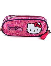 Hello Kitty 579 - Estuche de lápices redondo