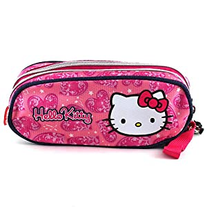 Hello Kitty 579 – Estuche de lápices Redondo