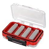 Angelhaken Fischhaken Box KöderBox Angelbox Ködertasche schwarz rot