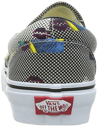 VANS - CLASSIC SLIP ON - Van Doren Black 80's Lips Nero