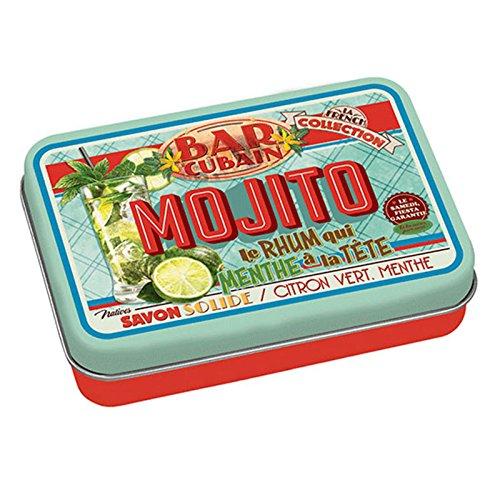 Savon de Marseille + Boitier métallique vintage Aroma Mojito Menthe 100gr 6112907103