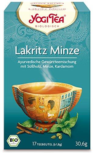 Yogi TEA Lakritz Minze Bio, 17X1.8 g (Bio-pfefferminz-lakritze)