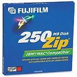 Fuji® IBM/Mac Compatible Zip Disk, 250MB