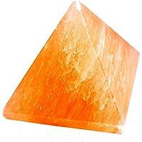 Pyramid - Orange Selenite Gemstone 2-2.5 Inch Chakra Balancing Reiki Healing preisvergleich bei billige-tabletten.eu
