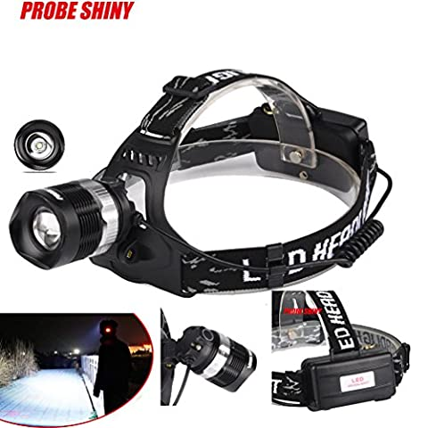 LED Headlight, TopTen 2000 Lumens Super Bright Headlamp Head Light Flashlight for Camping Hunting Hiking and Outdoors