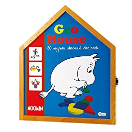 Barbo Toys–7272–Moomin Geohouse Magnetico Forme
