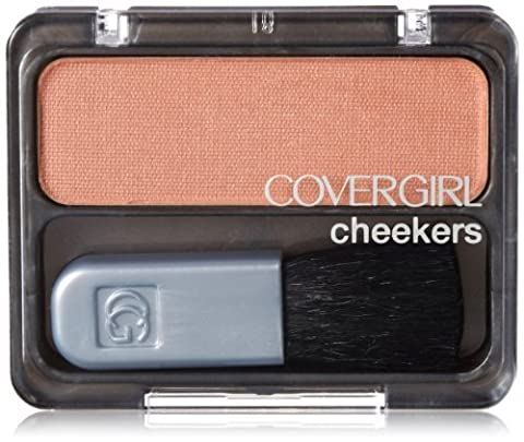 CoverGirl Cheekers Blush, Iced Cappuccino 130, 0.12 Ounce by