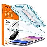 Spigen, 2 Pezzi, Vetro Temperato iPhone 11 / XR (6.1'), Ez Fit, Kit di Installazione Incluso, Durezza 9H, Anti-Impronta, Pellicola iPhone 11 (064GL25166)