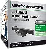 Rameder Pack attelage rotule Standard 2 Trous pour Renault TRAFIC II Autobus/Autocar...