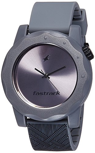 Fastrack Analog Grey Dial Men's Watch - 38022PP07