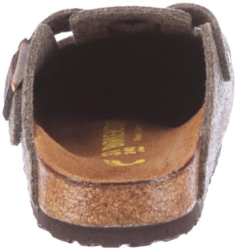 Birkenstock Boston Unisex - Erwachsene Clogs & Pantoletten Braun (Cacao)