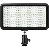 Andoer 228pcs perles Ultra mince 3200K - 6000K éclairage Dimmable Studio Photo vidéo Pad panneau lampe lumière LED d'éclairage pour Canon Nikon DSLR caméra caméscope DV