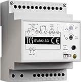 TCS bvs20-sg-System Stromanschluss Interkom-System-Zubehör–Zubehör Freisprechanlagen (System, Grau, Weiß, Kunststoff, CE, 72mm, 70mm)