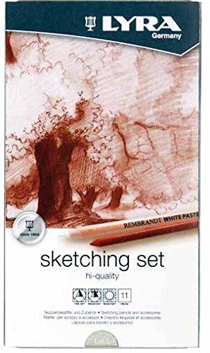 lyra-rembrandt-sketching-pack-de-12-lapices