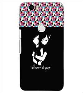 PrintDhaba Quote D-3189 Back Case Cover for HUAWEI NEXUS 6P (Multi-Coloured)
